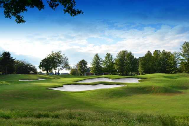 A view from Oak Valley Golf Club.