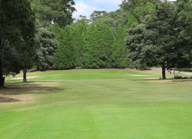 A view of hole #13 at Ulverstone Golf Club.