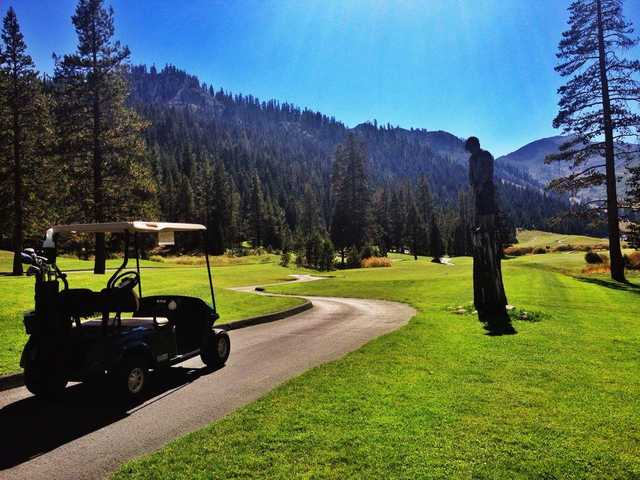 A view from The Links at Squaw Creek.