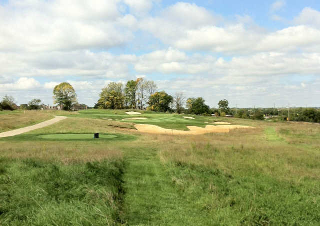 A view of tee #8 at Sagamore Golf Club.