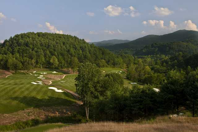 A view from Sequoyah National Golf Club.