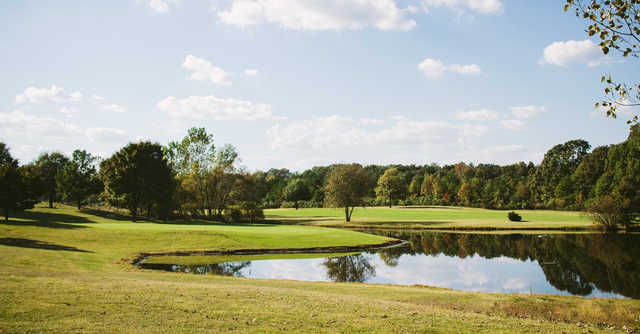A view of the 17th hole at Stonebridge Golf Club.