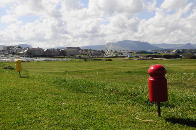 View from a tee at Bundoran Golf Club
