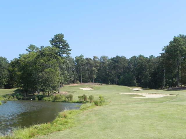 A view from fairway #8 at Kiskiack Golf Club.
