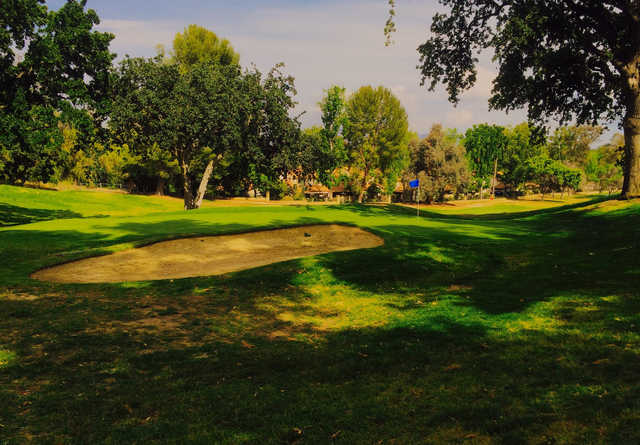 A view of a hole from Vista Valencia Golf Course.