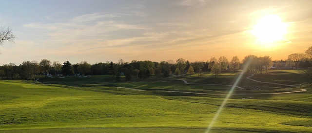A sunny day view from Westfield Country Club.