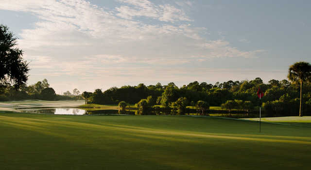 A view of a hole at Bent Pine Golf Club.