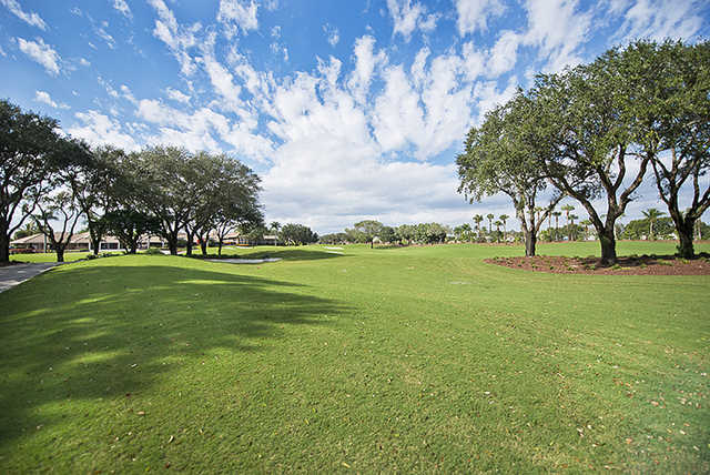 A view of a fairway at Bocaire Country Club.