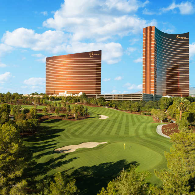 View from the 1st hole at Wynn Golf Club