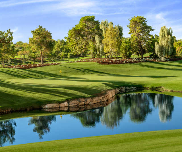 View from the 5th hole at Wynn Golf Club