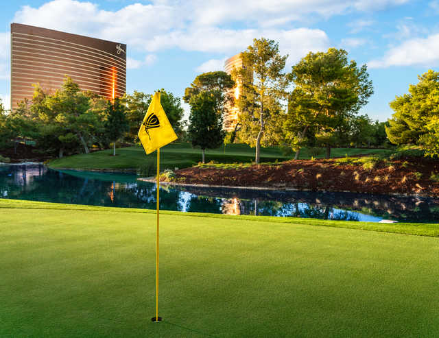 View from the 12th hole at Wynn Golf Club