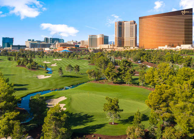 View from the 13th hole at Wynn Golf Club