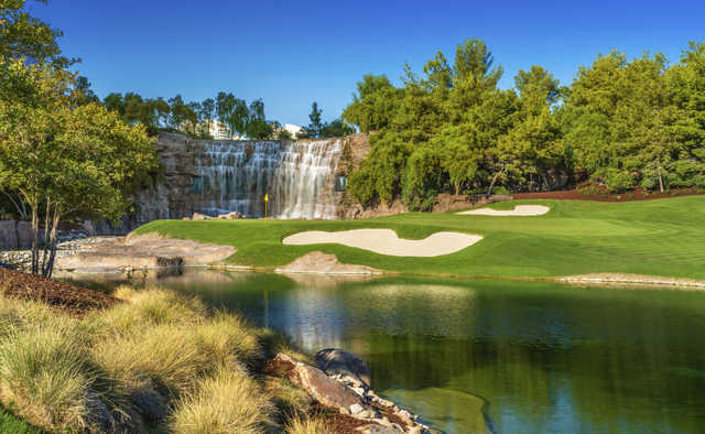 View from the finishing hole at Wynn Golf Club