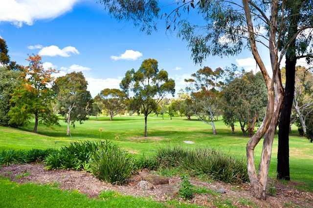 A view from Northcote Municipal Golf Links