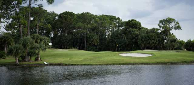 View of a green at Charlotte Harbor National Golf Club