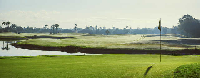 View from a green at Charlotte Harbor National Golf Club.