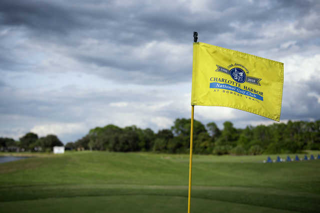 A view from Charlotte Harbor National Golf Club
