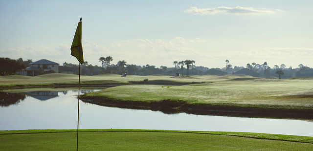 View from a green at Charlotte Harbor National Golf Club