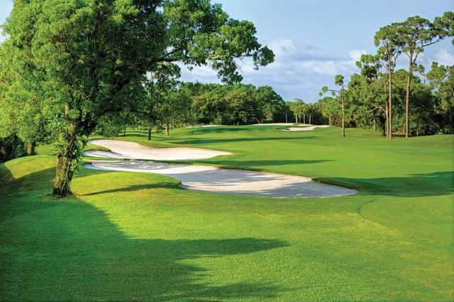 A view of the 8th hole at Seagate Country Club.