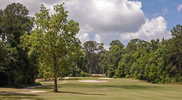 A view from Bottom at Valdosta Country Club.