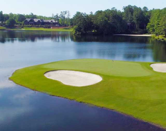 A view of hole #3 at Creek from Big Canoe Golf Club.