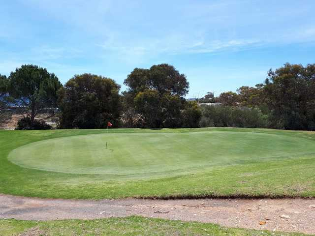 A view of the 6th hole at Marion Park Golf Club.
