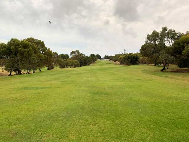A view from a fairway at Marion Park Golf Club.