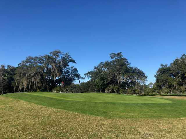 View of a green at Clearwater Country Club