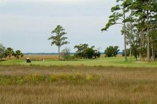A view of the 13th fairway at The King and Prince Beach & Golf Resort.