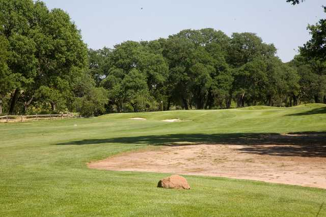 A view of hole #13 from Lakes/Oaks at Timber Creek Golf Course.
