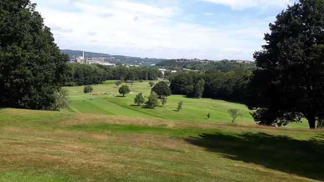 View from Longley Park Golf Club