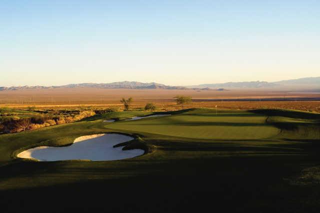A view of a hole at Eldorado Valley from Boulder Creek Golf Club (Brian Oar).