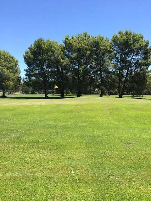 A view from Berrigan Golf & Bowling Club