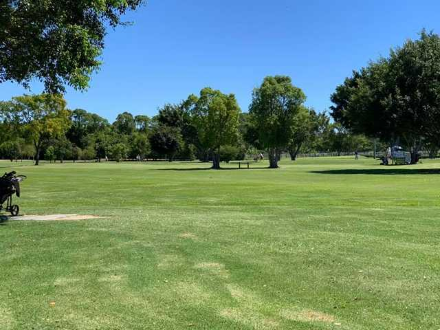 A view from Meadow Park Golf Course