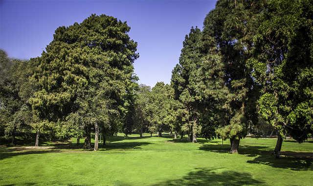 A view from Los Feliz 3-Par Golf Course