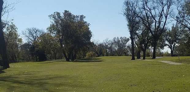 A view from Independence Golf Course