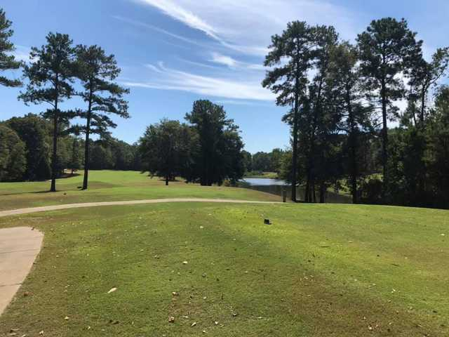 A view of a tee at Bull Creek Golf Course (Kyle Profitt).