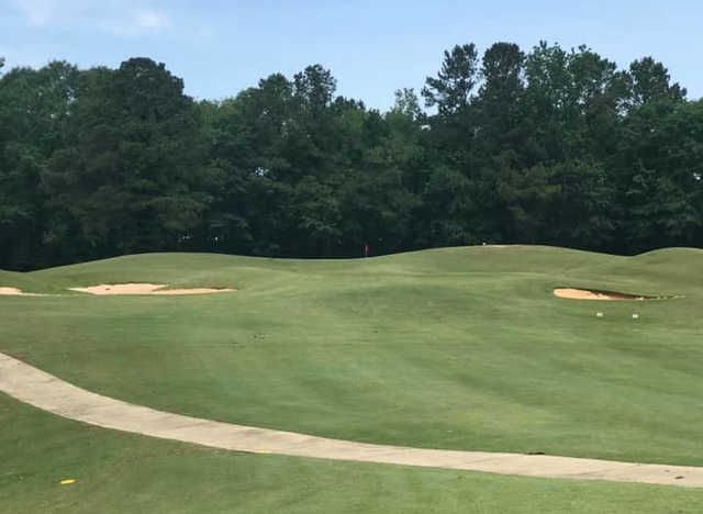 A view of a hole from Bull Creek Golf Course (Joshua Heather Mitchell).