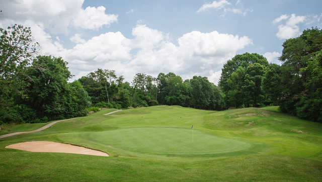 A view of hole #17 from The Club at Gettysvue.