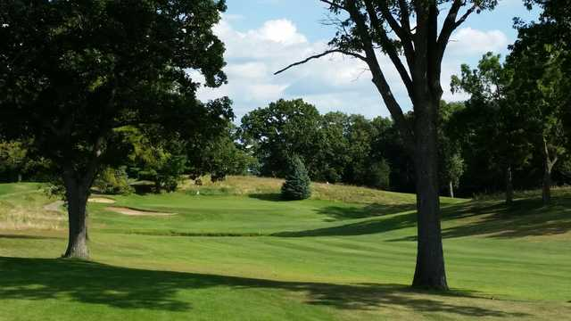 View of the 15th hole at Pond View Golf Course