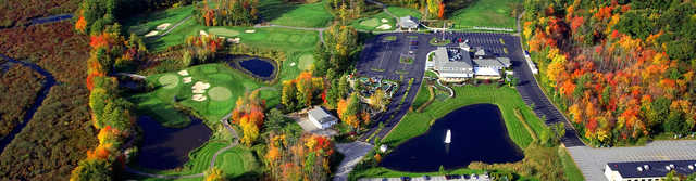 Aerial view from Brookstone Park Golf Complex