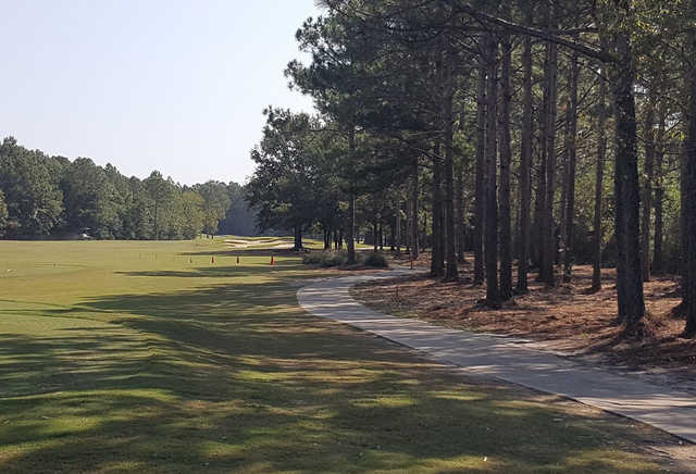 A view of fairway #3 at Shell Landing Golf Club.