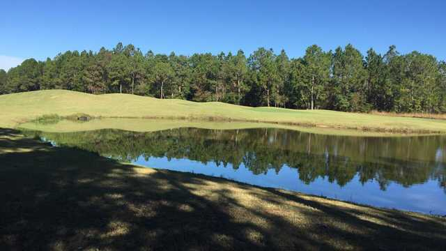 A view over the water from Shell Landing Golf Club.