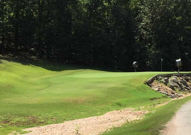 A view of a green at Deer Valley Golf Club (Chris Ramos).