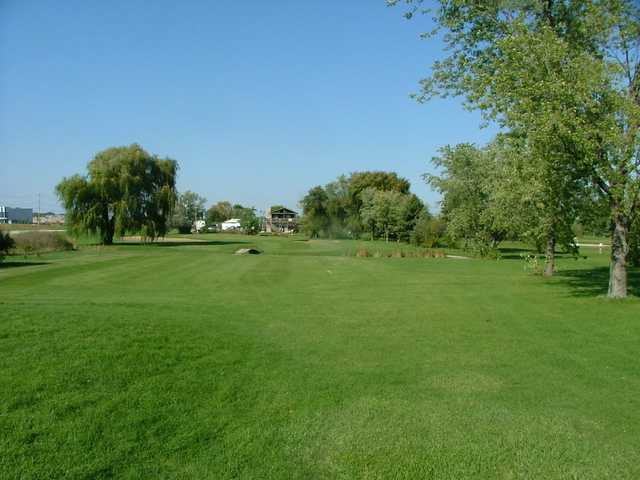 A view from Oak Hills Golf Course.