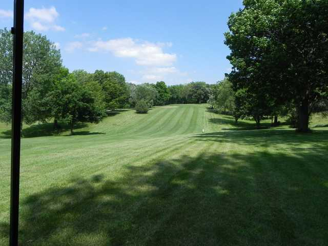 View of a fairway at Red Oak Country Club.