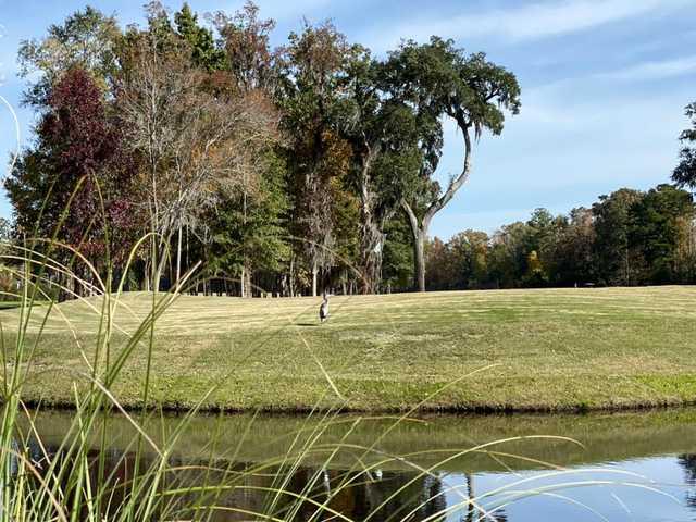 View of a green at Richmond Hill Golf Club