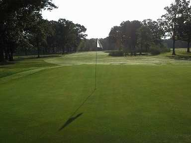 View of a green at Green Tree GC