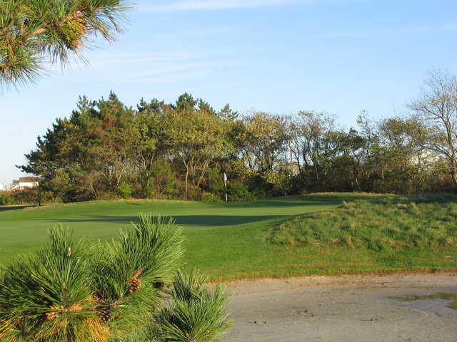 View of the 1st green at Brigantine Golf Links.