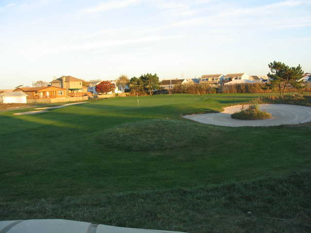 View of the 5th green at Brigantine Golf Links.